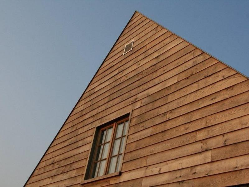 Realisaties eikenhouten gevelbekleding carpentier hardwood