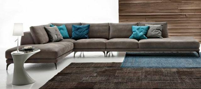 Canap d 39 angle italien meubles de luxe mon salon - Meubles de luxe italiens ...