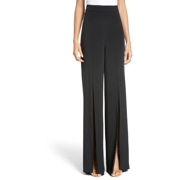 flared high waisted trousers - Black Cushnie et Ochs YiSVZNNZ