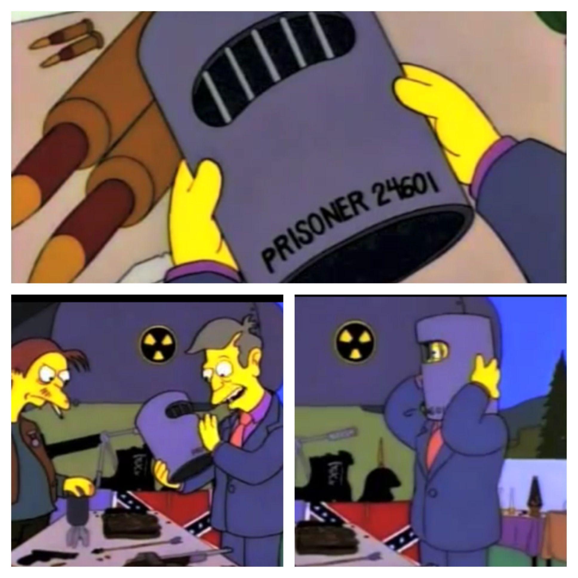 Simpsons Principal Skinner Is Jean Valjean Lol
