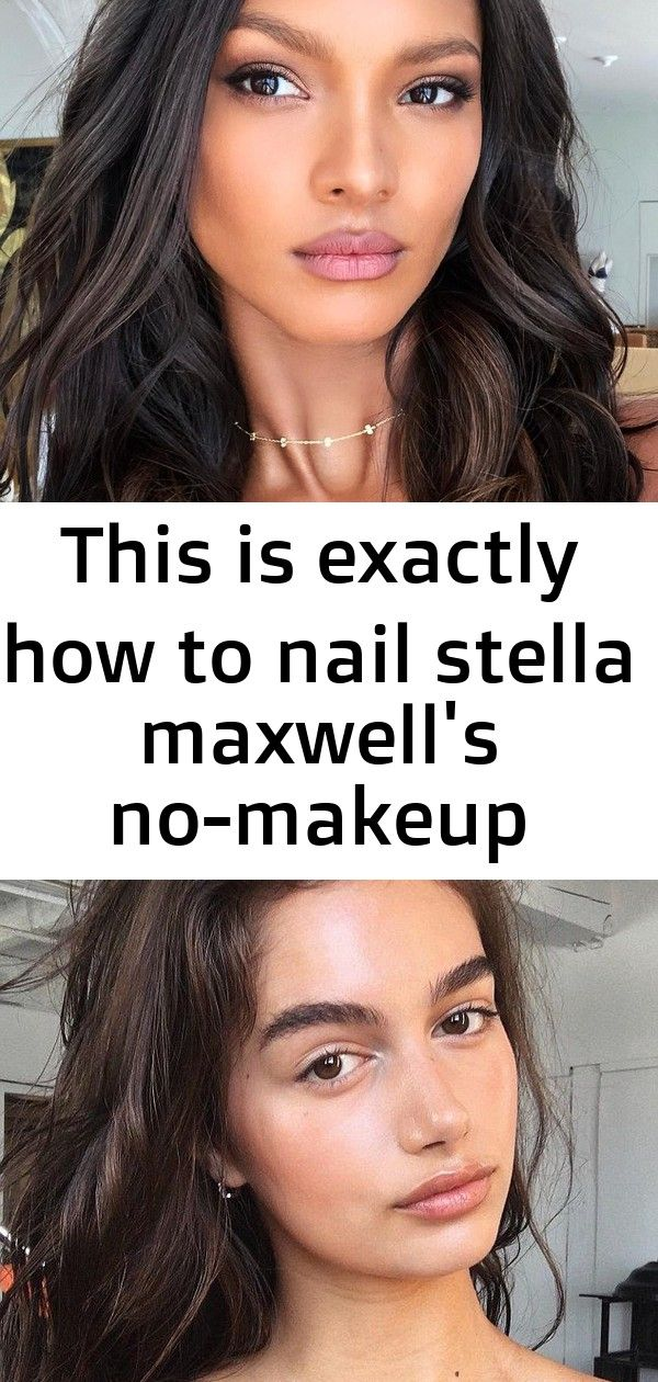 This is exactly how to nail stella maxwells nomakeup makeup look 5 Wondering how supermodel Stella Maxwell achieves a nomakeup makeup look Her makeup artist gives us her...