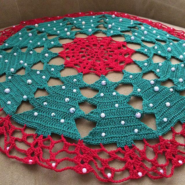 Ravelry Yuliaz S Christmas Trees Doily Decoracao De Croche Croche Natalino Modelos De Croche