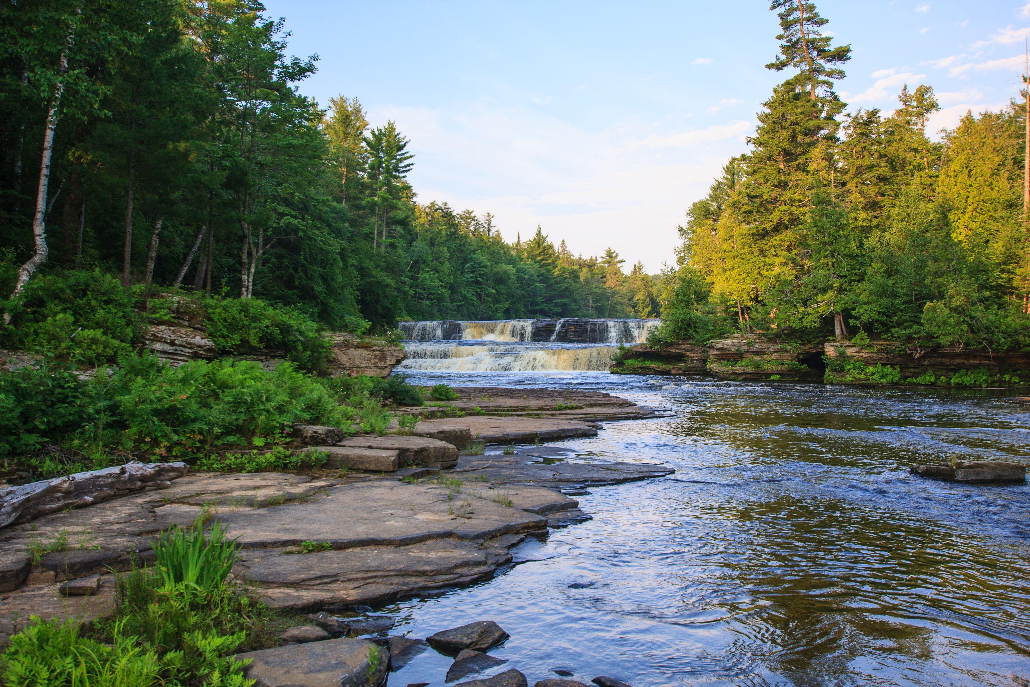 Tahquamenon Falls  Lower Falls
