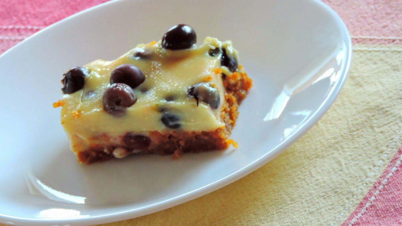 Maman Mélanie cuisine: Carrés bleuets et citron