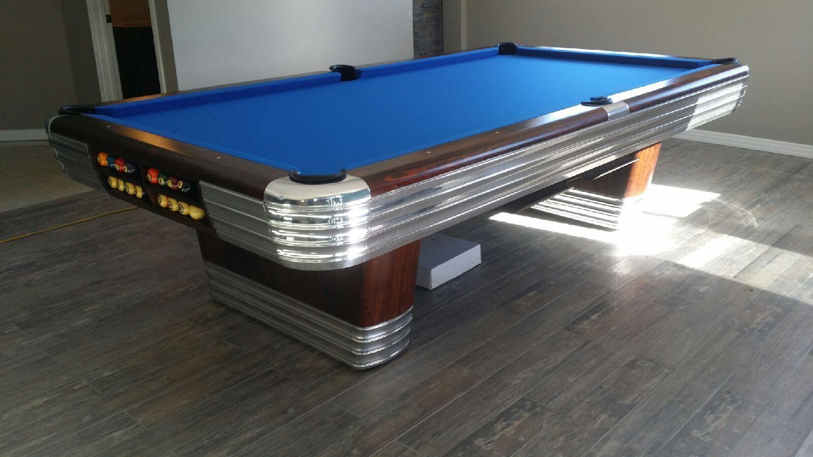 1945 9u0027 Brunswick Centennial Pool Table   Colorado Pool Table Guys: The Pool  Table