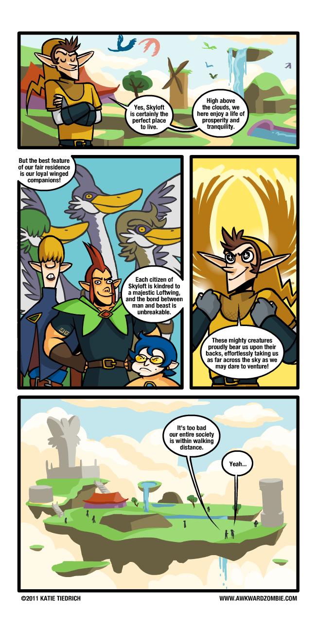 Bad Zelda Comic