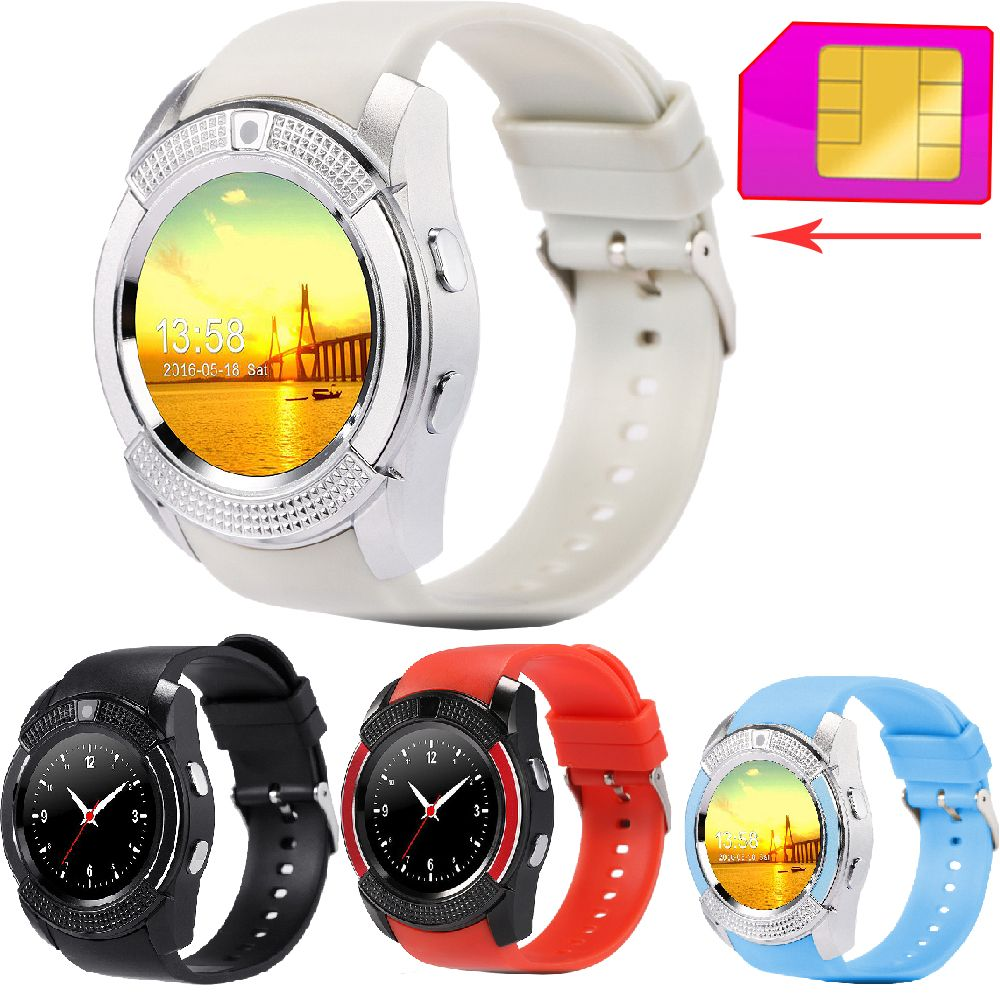 "Zw45 bluetooth smart watch smartwatch 2g gsm/tf karte uhr armbanduhr kamera 1,22 ""touchscreen pedometer mp3-player für android //Price: $US $27.19 & FREE Shipping //     #smartwatches"