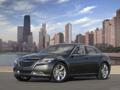 Chrysler 200C EV Concept 2009 poster, #poster, #mousepad, #Chrysler