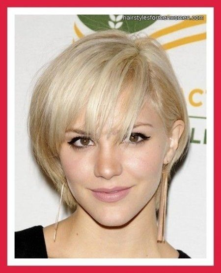 Short Hairstyles For Fine Hair Oval Face Style Pinterest Short Hairstyles For Fine Hair Long Face Short Thin Hair Thin Hair Haircuts Hairstyles For Thin Hair