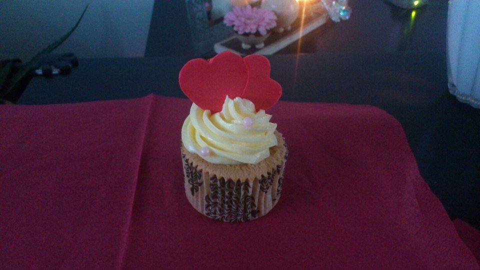 Valentijn cupcakeje