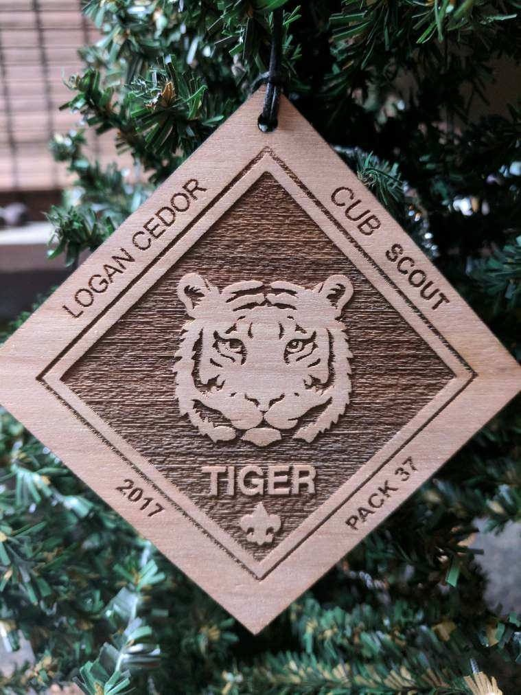 pin by jennifer elder on symbolic engraving pinterest etsy christmas christmas ornament and christmas tree - Boy Scout Christmas Trees
