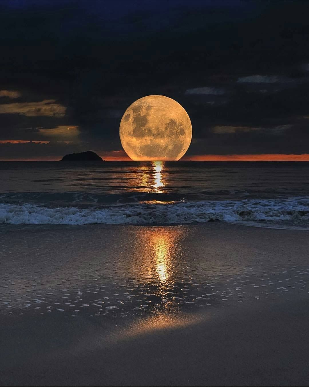 Luna Sul Mare Sogni Pinterest