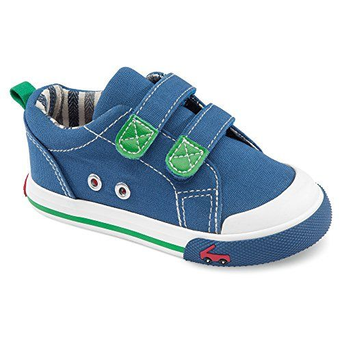 See Kai Run Hess II Sneaker (Toddler), Navy/Green, 8 M US Toddler - http://all-shoes-online.com/see-kai-run/8-m-us-toddler-see-kai-run-toddler-hess-ii-sneaker