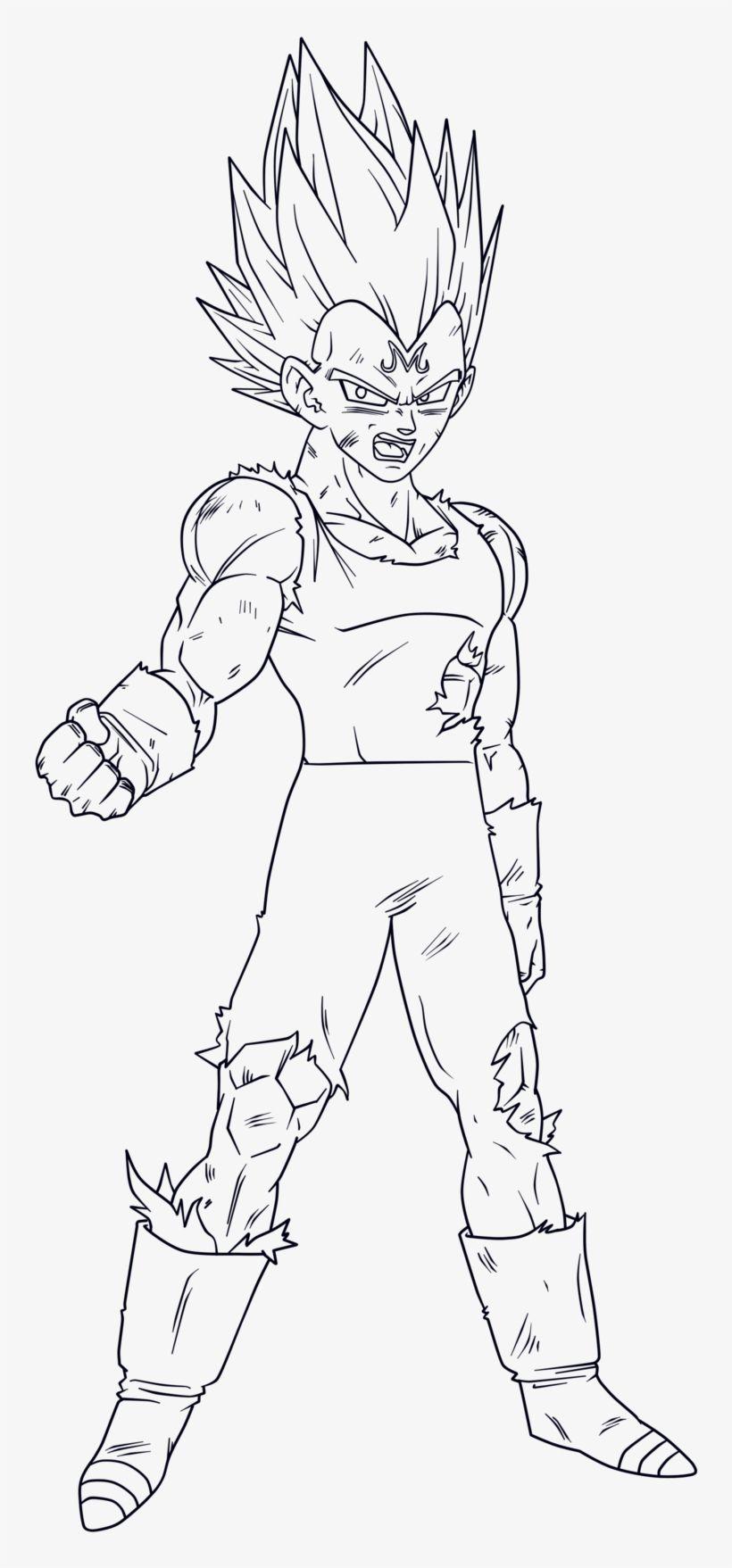 Majin Vegeta Drawing By Yours Truely In 2020 Logo Dragon Drawings Dragon Ball