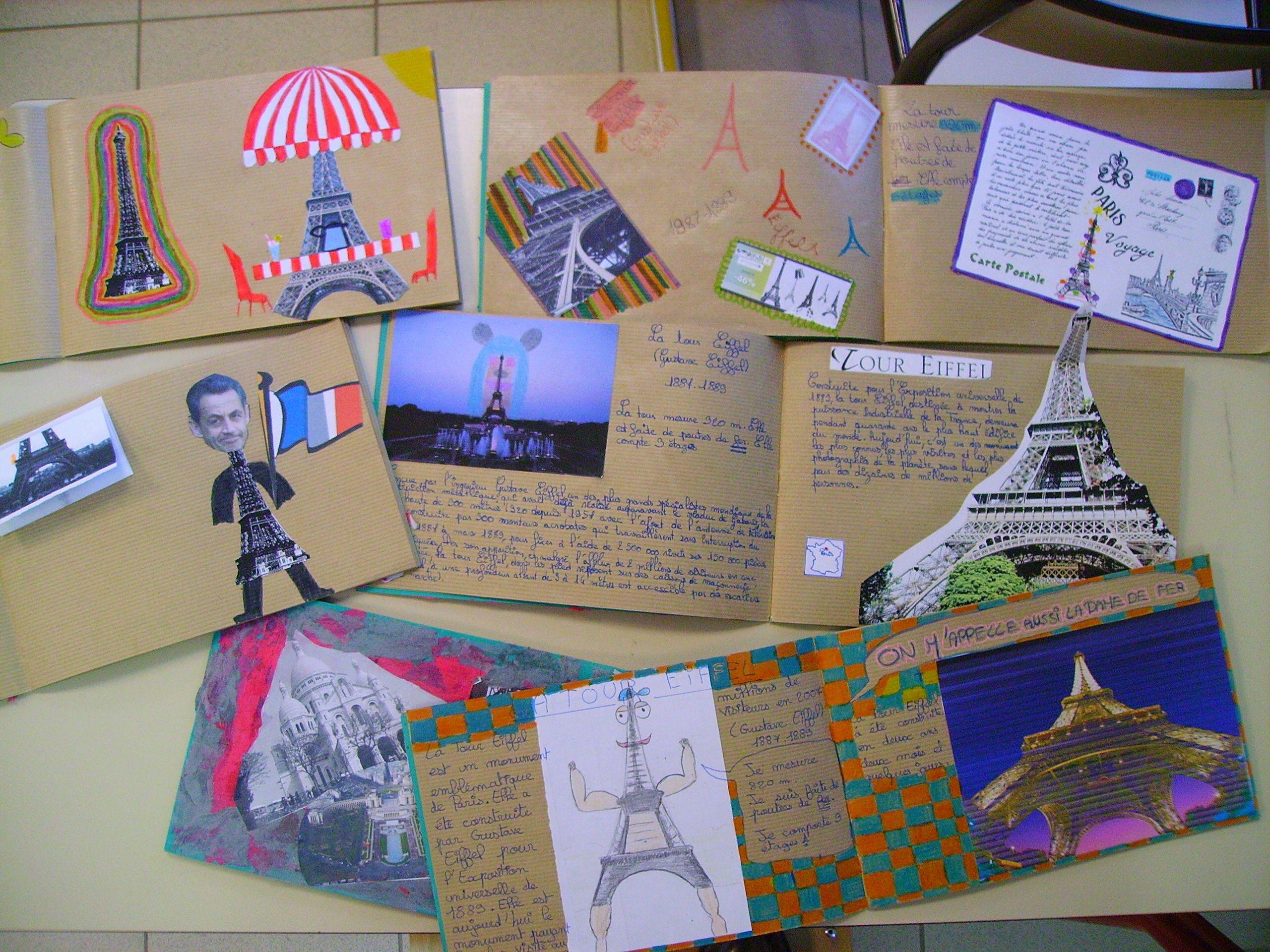 Célèbre Carnet de voyage (ART)   Cycle 3   Pinterest   Carnets, La tour  SV21