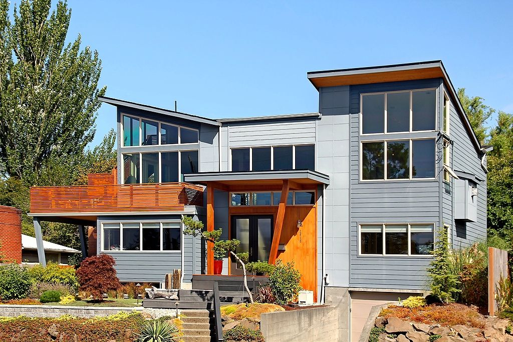 Modern View Home In West Seattle Seattle Homes For Sale Seattle Homes House Styles