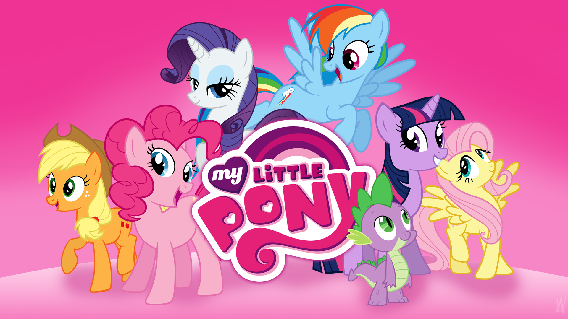 my little pony birthday wallpaper - photo #11