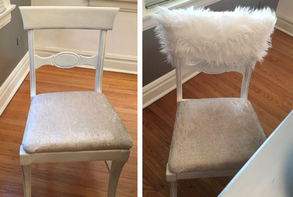 fur chair cover peg perego high rocker white chiavari caps home decor style up your dinning custom luxury covers
