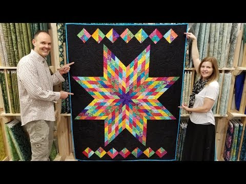 7 Free Pattern One Jelly Roll Lone Star Quilt Youtube Lone Star Quilt Pattern Missouri Star Quilt Company Tutorials Lone Star Quilt