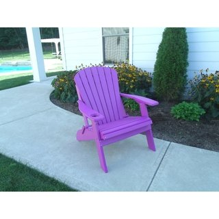 Extra Large Adirondack Chair Big Boy Style Recycled Plastic