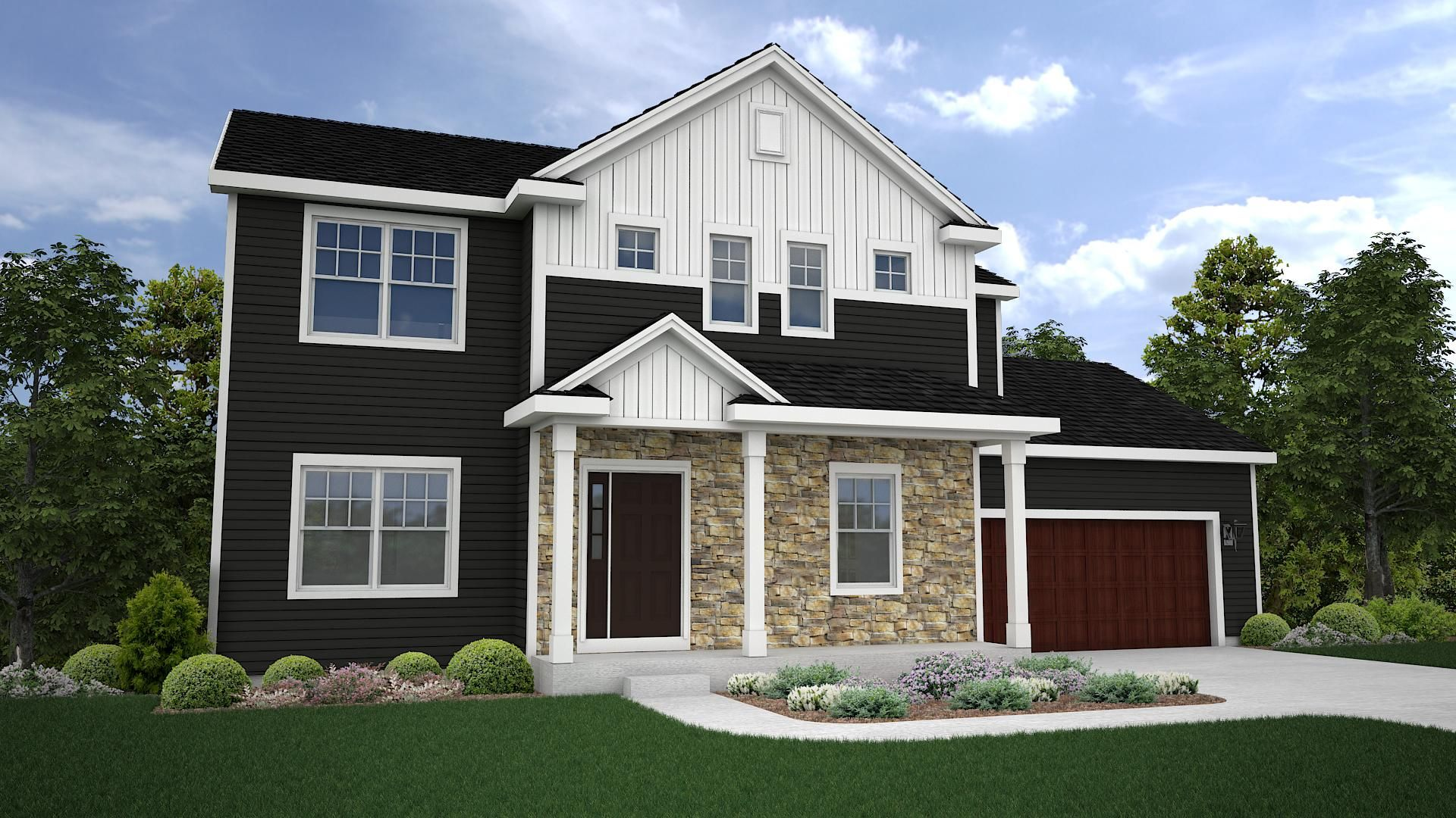 Willow Classic Elevation Timobrienhomes Home Builders