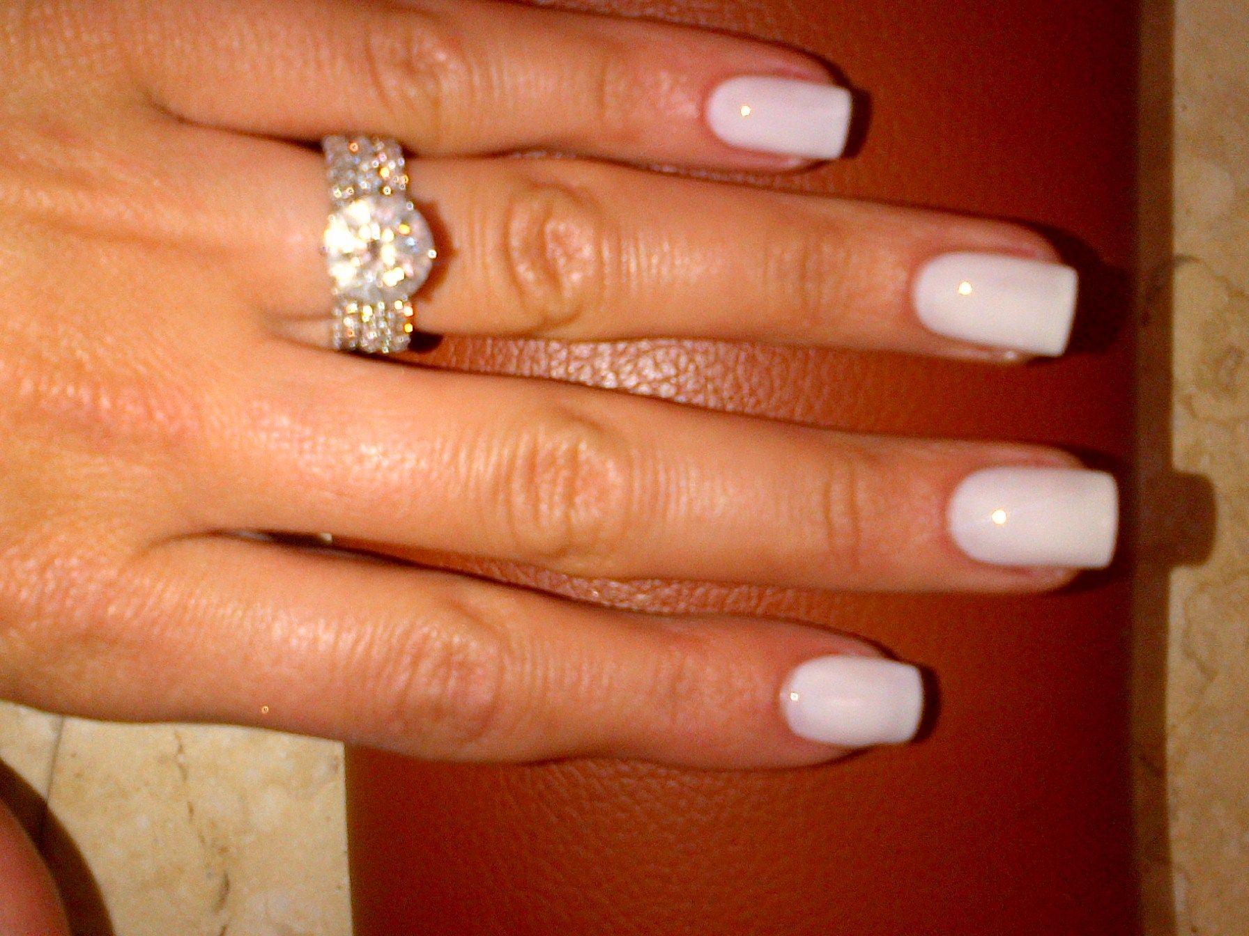 Essie Marshmellow: Perfect nail length | Nails | Pinterest | Esmalte ...
