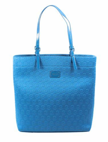 4ace5301eb73 Michael Kors Turquoise Blue Neoprene Jet Set Clothing Impulse ...