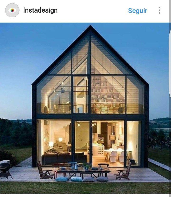 Moderne Häuser, Kleine Häuser, Cos, Kommentar, Midcentury Kronleuchter,  Krakau, Glashäuser