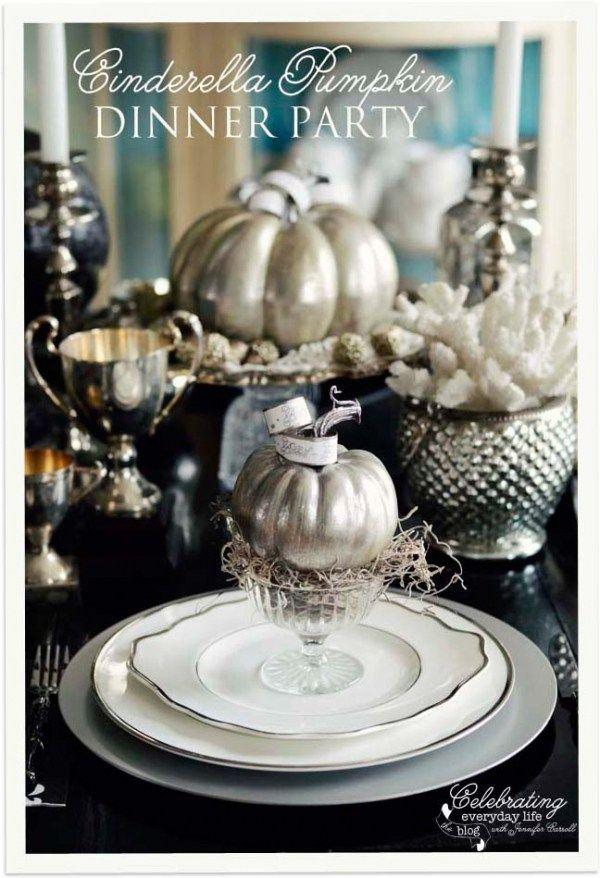 10 elegant Halloween table themes Let\u0027s Party! Pinterest - elegant halloween decorations