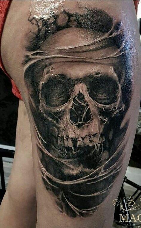 Photo of Tattoo Ideen Schädel Hintergründe 54 Ideen