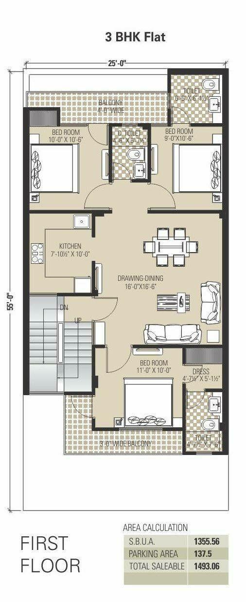 Épinglé par Khadiijaa.k sur Plan | Plan maison, Plans ...