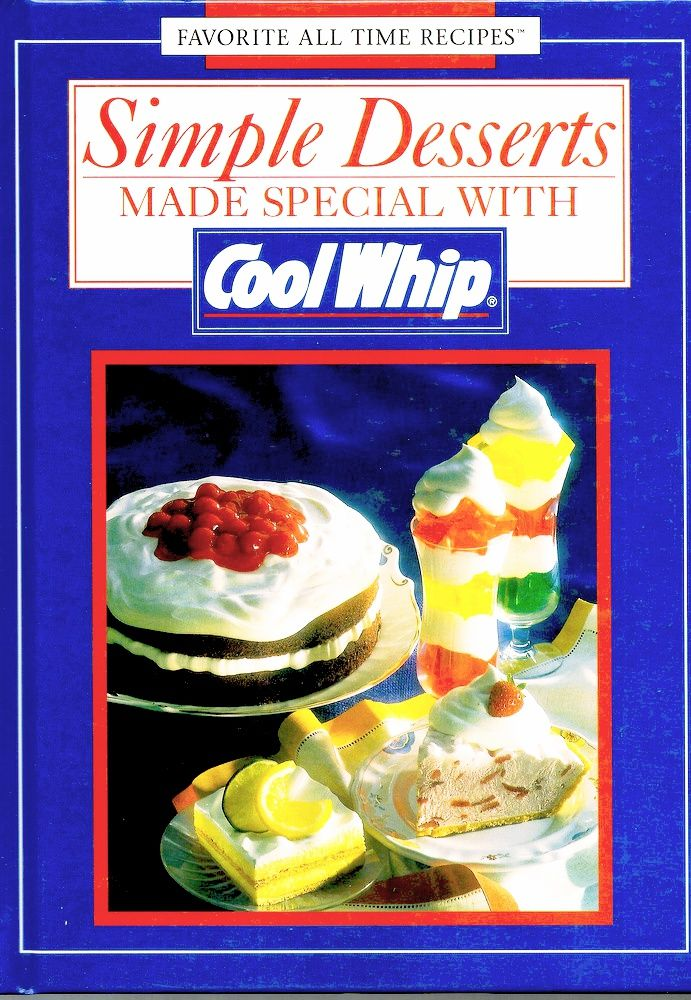 Vintage cool whip hardcover recipe book food company recipe books vintage cool whip hardcover recipe book food company recipe books are fun to collect forumfinder Choice Image