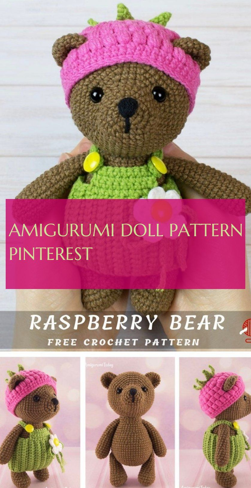 The Most Beautiful Amigurumi Doll Free Crochet Patterns (With ... | 1626x838