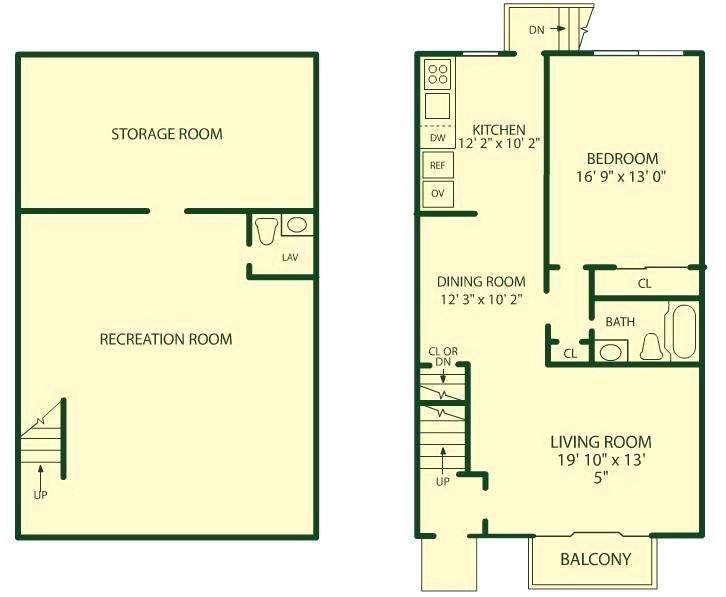 1 bedroom basement apartment floor plans decoration - 1 bedroom basement apartment floor plans ...