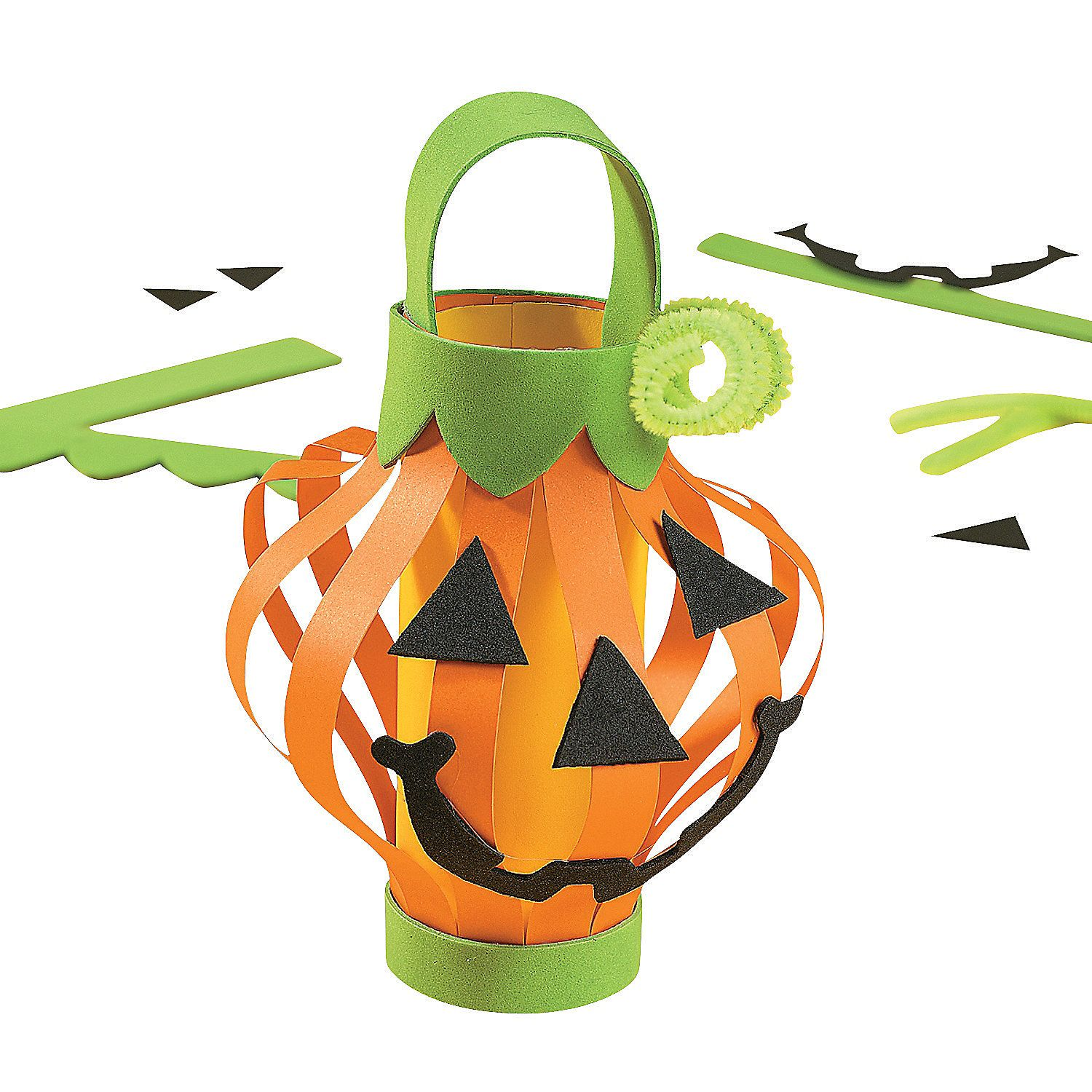 Paper Jack O Lantern Craft Kit