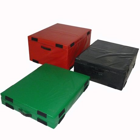 Hard Foam Plyo Boxes - Set of 3