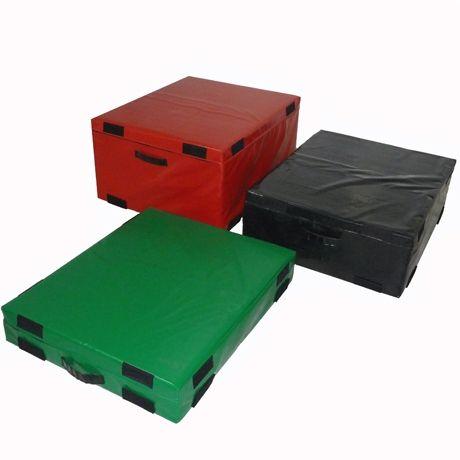 Hard Foam Plyo Boxes - Set of 3