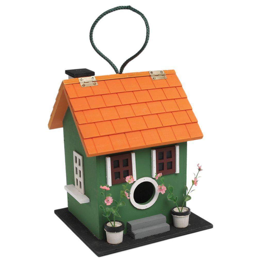 Green Summer Fun Bird House | DotComGiftShop