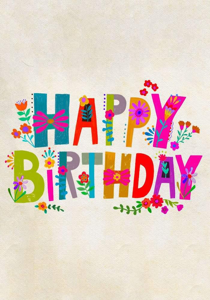 Happy Birthday E Gift Card Happy Birthday Card Design Egift Card Happy Birthday Lettering