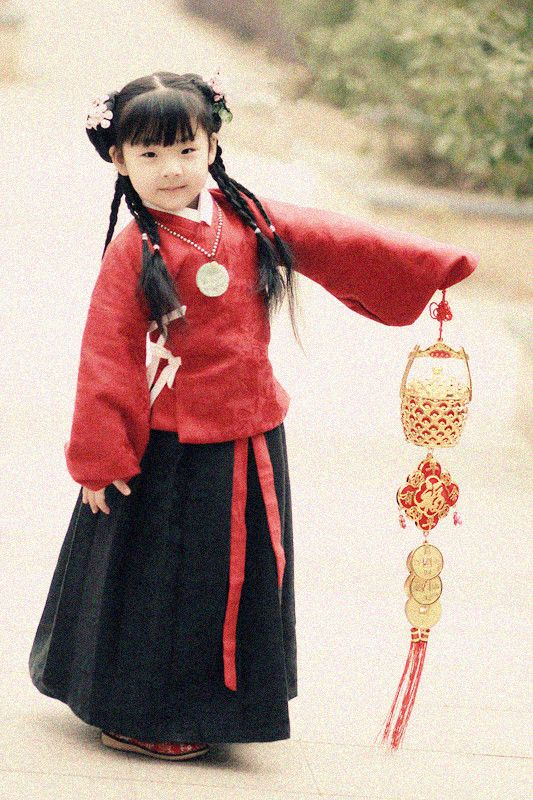 Chinese Princess Dressing Style in Ming Dynasty. Chinese