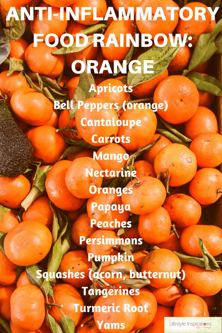 Anti Inflammatory Rainbow Orange Foods Antiinflammatorydietplanrecipes Anti Inflammatory Diet Recipes Anti Inflammatory Recipes Best Anti Inflammatory Foods