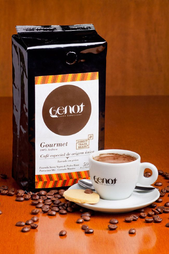 Genot Gourmet Coffee | Packaging of the World: Creative Package Design Archive and Gallery