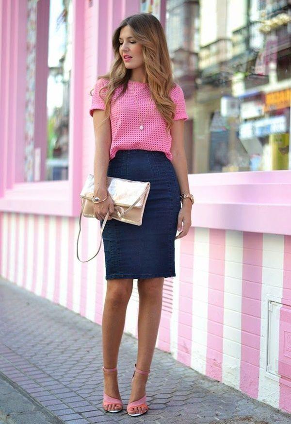 azul marino y rosa