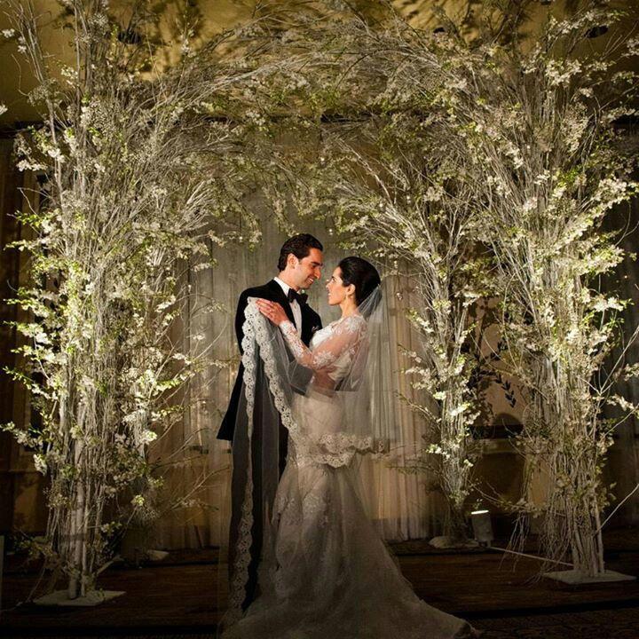 Forest Wedding Altar: Magic Forest Wedding Arches