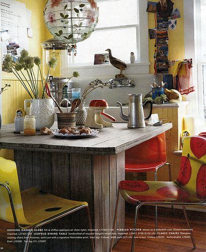 Miss-matched Kitchen
