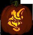 Pumpkin Carving Patterns and Stencils - Zombie Pumpkins! - The Grinch pumpkin pattern ...