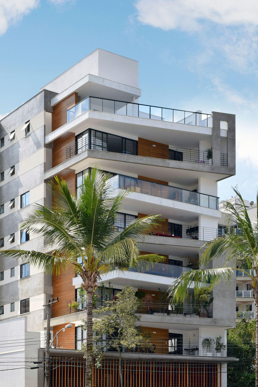 Galer a de edificio trentino skylab arquitetos 5 for Fachadas apartamentos modernos