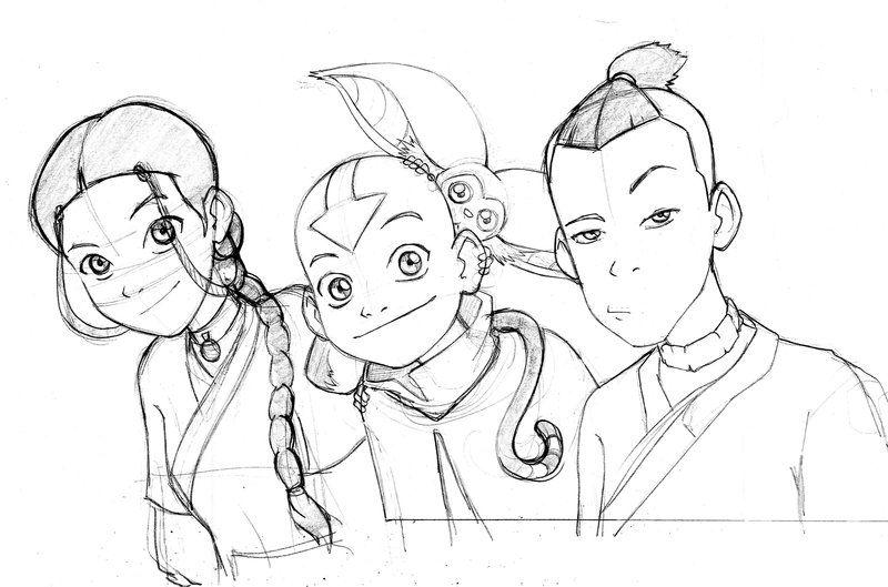 Avatar: Group Press Art 8 by songdynasty.deviantart.com   La leyenda ...