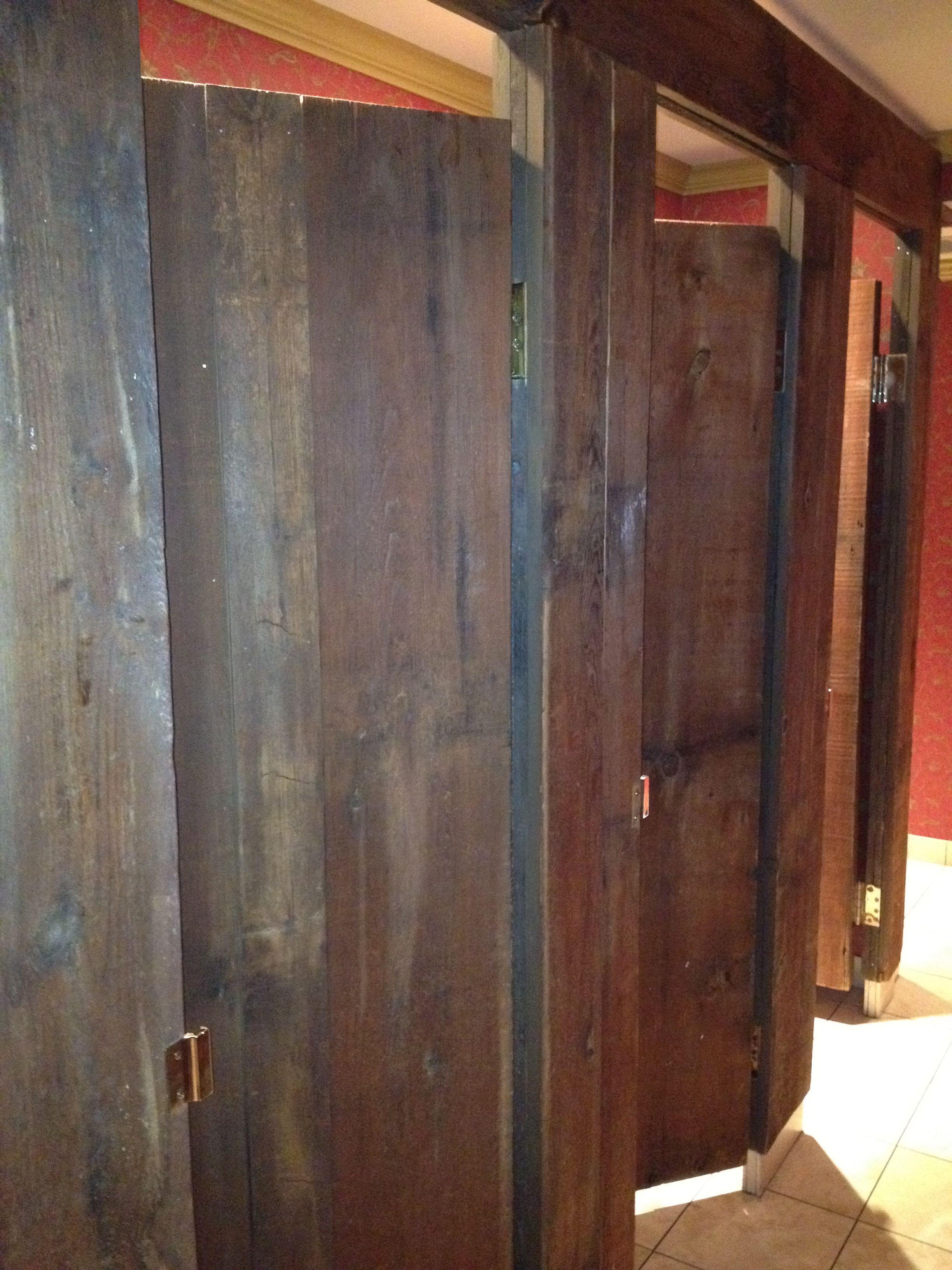 The Bathroom Stalls At Kohler Wood Pinterest Doors