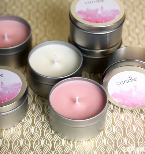 Diy Wedding Favor Candles Recipe Free Printable Favors And